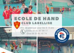 BEC-Ecole de hand labellisée